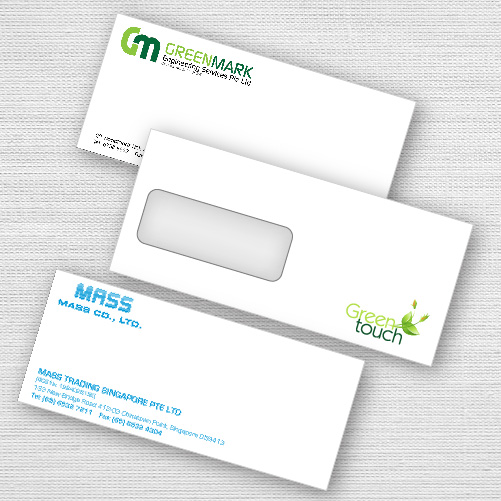 High quality envelope printing services in singapore reheart Choice Image