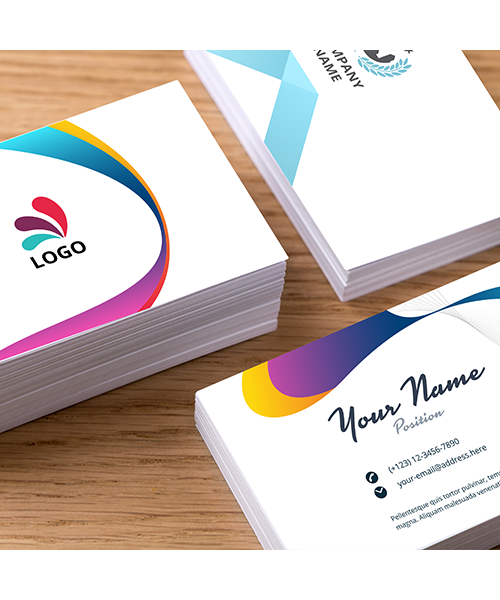 customized name card design in singapore business card